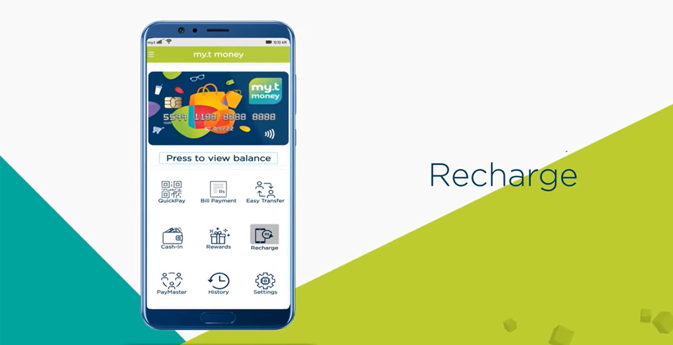 Rechargez votre smartphone avec my.t money ; c'est simple et rapide