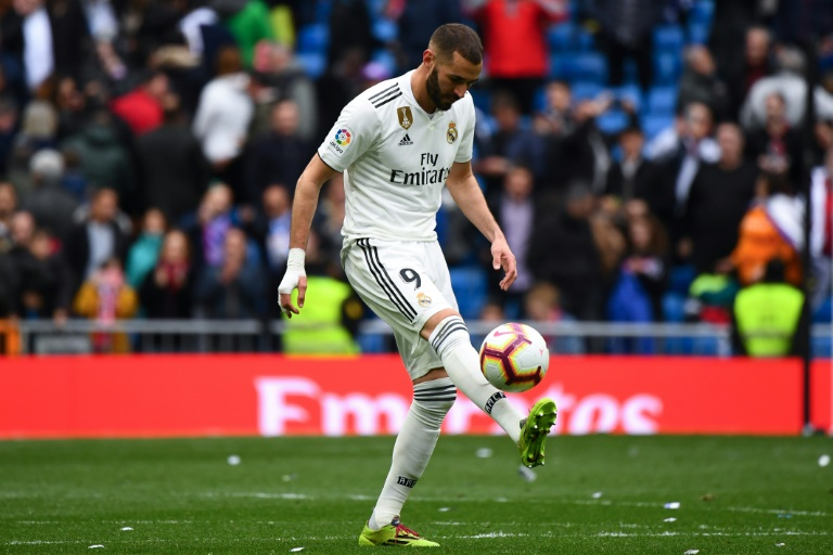 Benzema's treble fires Real Madrid past Bilbao as Bale jeered again