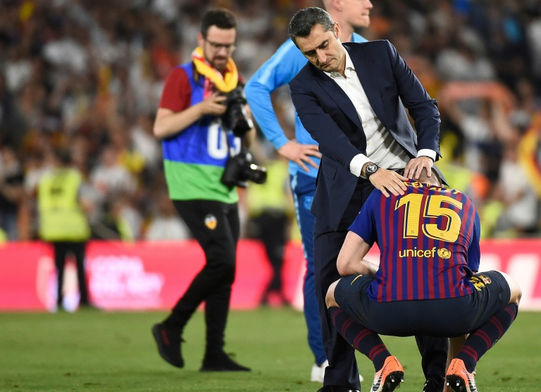 Valverde not to blame for Barca cup defeat - Bartomeu