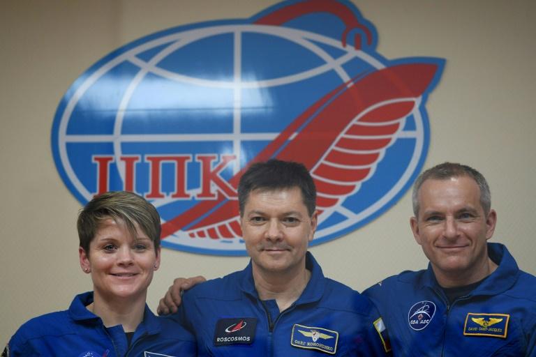 Premier vol habité à destination de l'ISS depuis le lancement raté