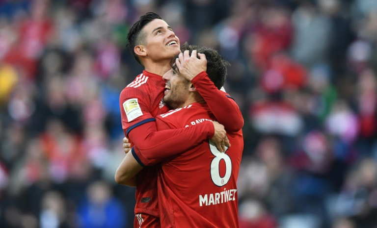 Bayern bridge gap to Dortmund with Berlin win