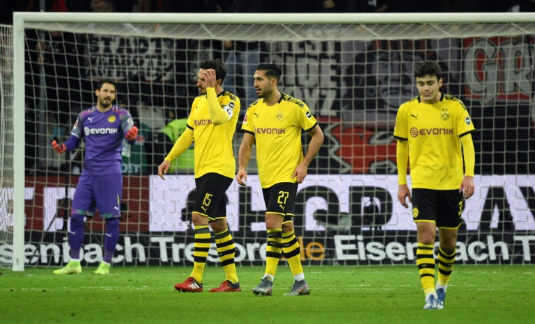 Can urges Dortmund to 'win dirty' after Leverkusen collapse