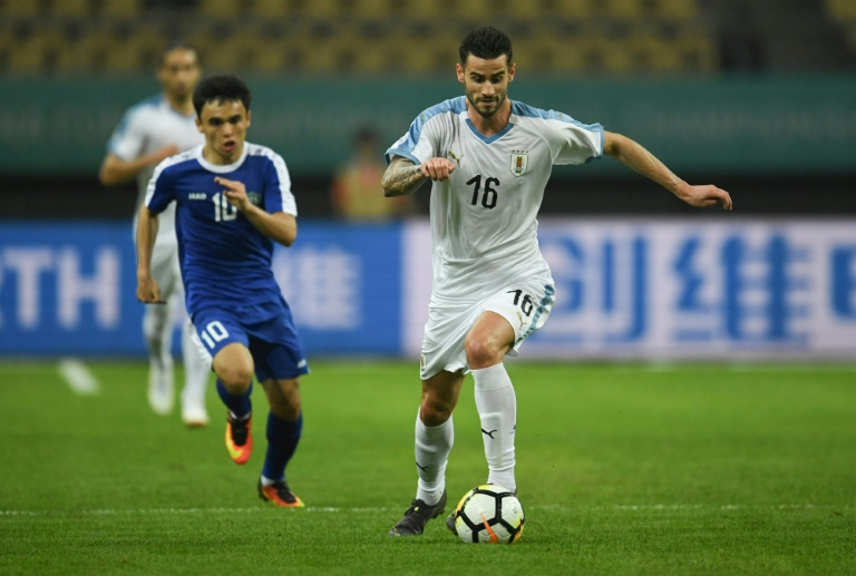Stuani strikes again as ruthless Uruguay win China Cup