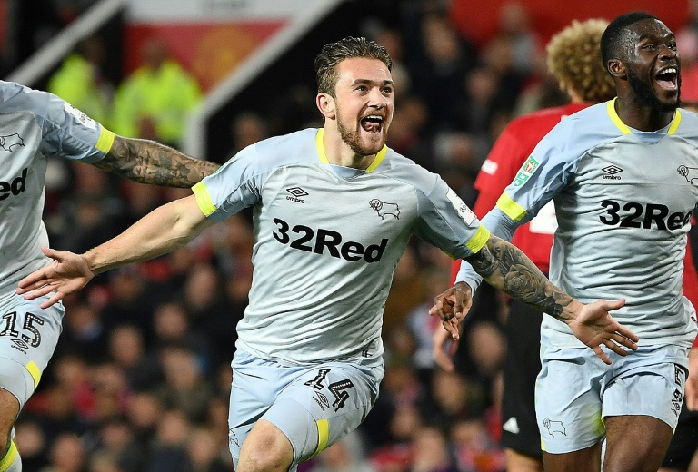 Goal in 18 seconds helps Derby keep Sheffield United off top spot