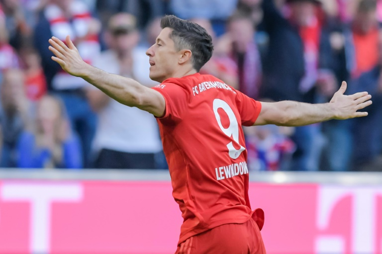 Lewandowski makes history after scoring in first nine Bundesliga games