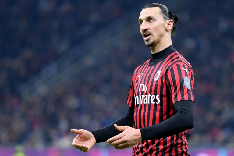 Ibrahimovic launches fundraiser for Italy