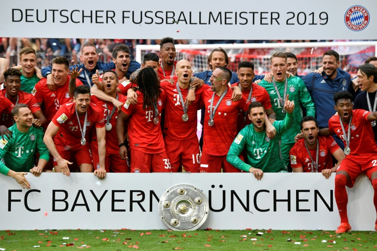 Five games which won the Bundesliga title for Bayern Munich