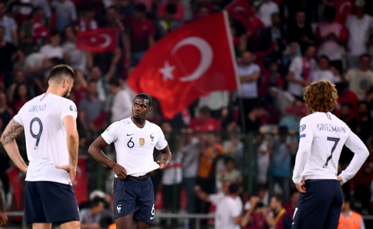 Poor France come unstuck away to Turkey in qualifying