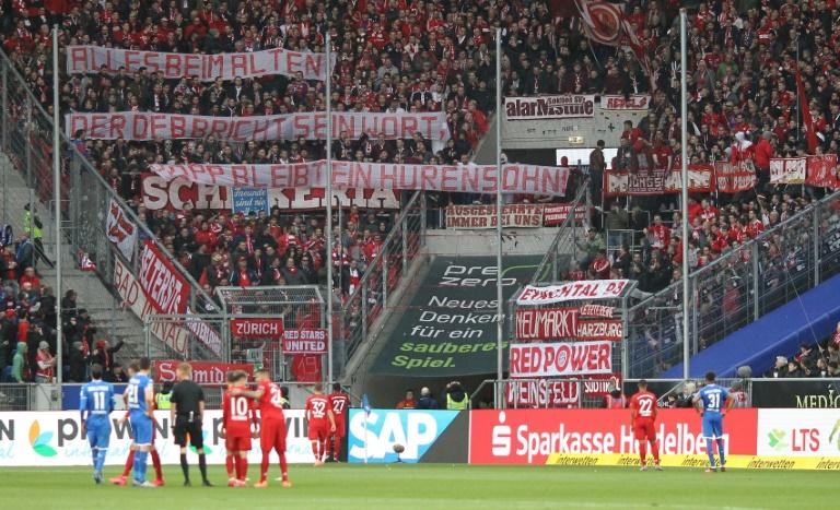 Irate fans could provide more Bundesliga banner headlines