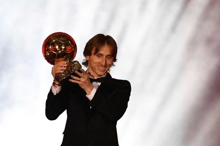 Modric sees off French stars to end Messi, Ronaldo grip on Ballon d'Or