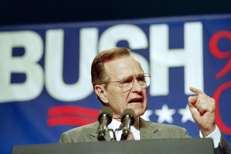 Décès de l'ancien président américain George Bush à 94 ans
