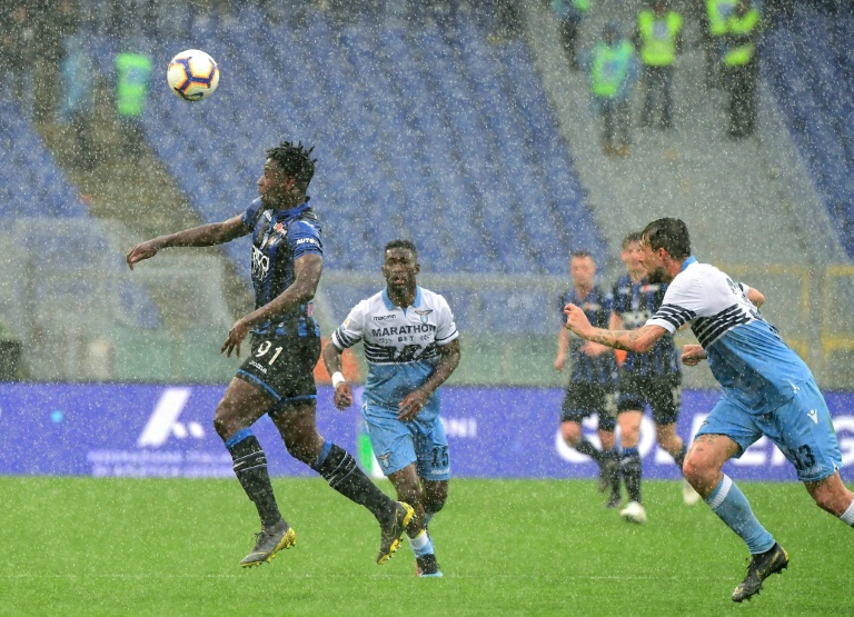 Zapata fuels Atalanta's Champions League belief with Lazio comeback