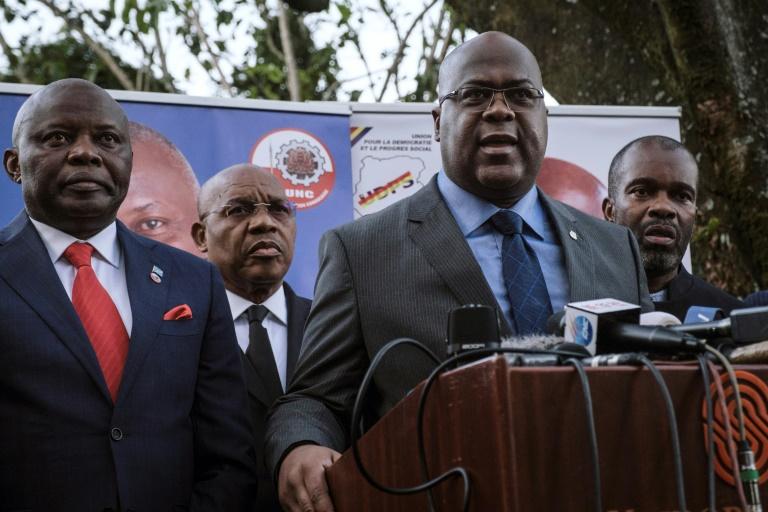 Elections en RDC: retour du ticket Tshisekedi-Kamerhe avec des promesses de victoire