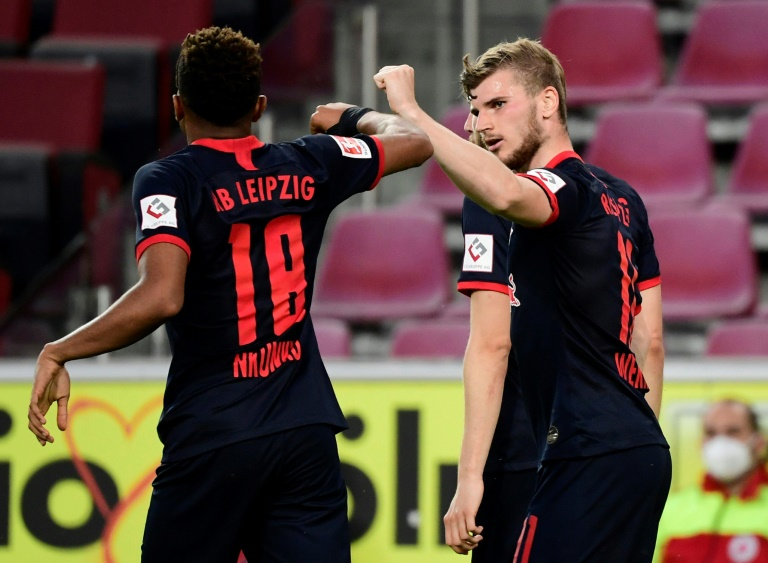 Werner strikes as potent Leipzig win in Cologne to return to third