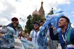 South American football fever grips Moscow