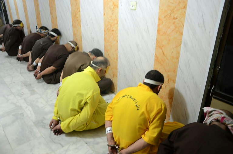 Irak: exécution de 12 terroristes condamnés à mort