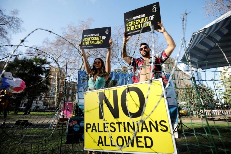 Les géants du tourisme en ligne tirent profit de crimes de guerre en Cisjordanie (Amnesty)