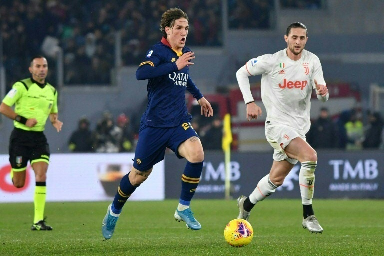 Roma's Zaniolo returns after four-month injury layoff