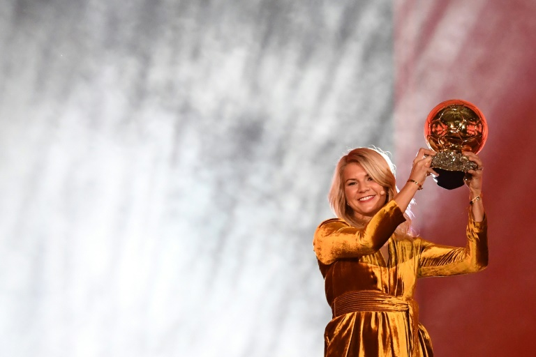 Norway's Ada Hegerberg wins inaugural women's Ballon d'Or