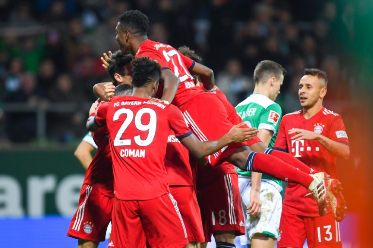 Bayern up to third with first league win for a month