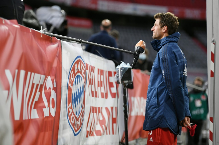 Bayern's Mueller expects sparks to fly in Dortmund showdown
