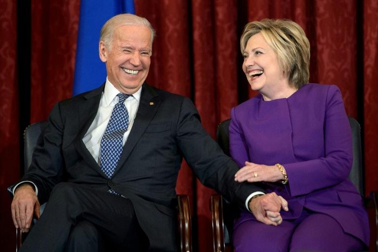 Hillary Clinton soutient Joe Biden dans la course à la Maison Blanche