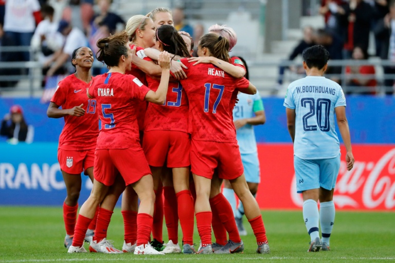 US women, federation agree mediation after World Cup: report