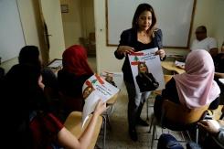 Au Liban, la campagne symbolique d'une Palestinienne pour un siège qui n'existe pas