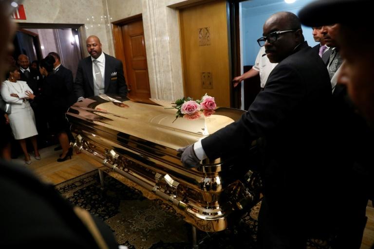 Des funérailles royales pour la Reine de la Soul Aretha Franklin